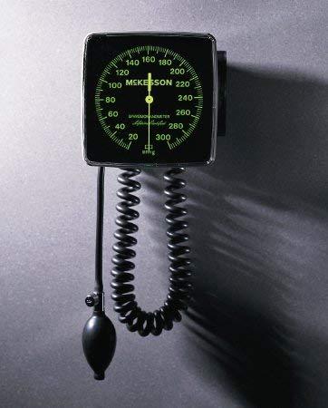 Mckesson Aneroid Sphygmomanometer LUMEON Wall Mount 2-Tube Adult Size Arm ()