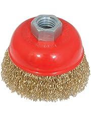 Silverline 208542 - Cepillo de vaso de acero latonado (75 mm)