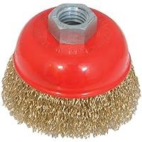 Silverline 969731 - Cepillo de vaso de acero