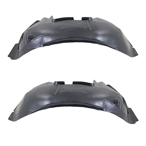 09-11 XF, XFR Front Splash Shield Inner Fender Liner Panel Left & Right PAIR SET
