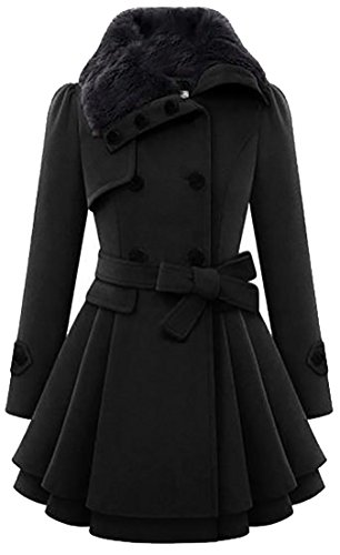Wool Blend Coat - 9