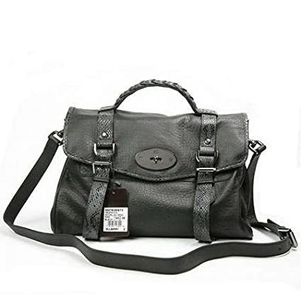 27f35eed76e Mulberry Bag Alexa with Snake Strap Black: Amazon.co.uk: Kitchen & Home