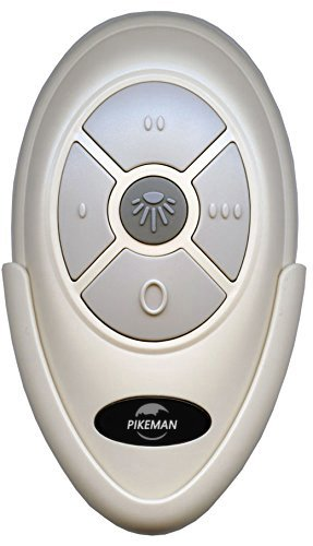 Ceiling Fan Remote Control with Wall Mount replace Harbor Breeze 0379573 KUJCE9603 L3HFANT1 FAN-35T -Pikeman