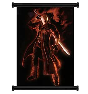 "Devil May Cry Anime Game Fabric Wall Scroll Poster (16"" x 24"") Inches"