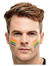 Smiffys 51003 Maquillaje FX, arco iris Grase Pintura, Unisex Adulto, Multicolor, Talla Única
