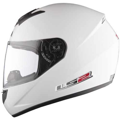 Amazon.es: LS2 FF351 Single Mono – Casco de Moto Integral, ligero, blanco, talla XL