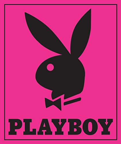 "Pink PlayBoy Plush Blanket - PLAYBOY Comforter (Queen Size) 84""x94"""