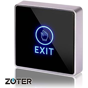 Amazon Com Dc 12v Nc No Square Zoter Touch Sensor Door