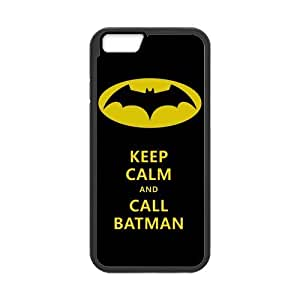 Classic Style Custom Silicone Hard Rubber Protector Case for iPhone6(4.7inch) - Batman