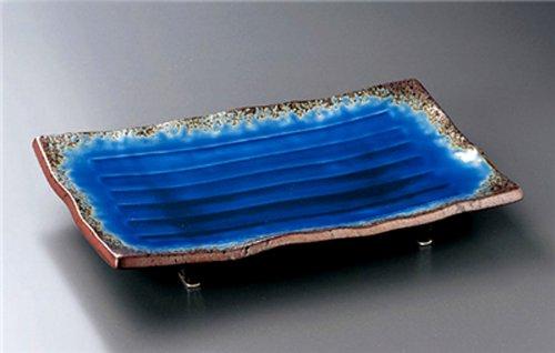 ARITA-YAKI NANBAN-RURI JIKI Japanese traditional Porcelain Set of 10 Large Plates made in JAPAN by Watou.asia