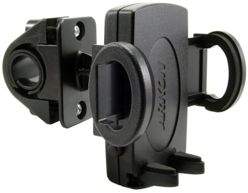 Arkon Universal Bicycle - Arkon Universal Bicycle Handlebar Mount for Mobile Phones and Smartphones (Black)