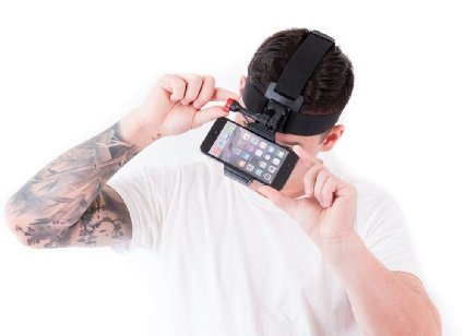 Sports Action Head Mount Camera for Your Smartphone - Social Media Sites Costumes