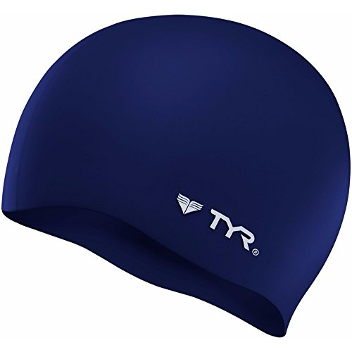 TYR Wrinkle Free Silicone Cap, Navy