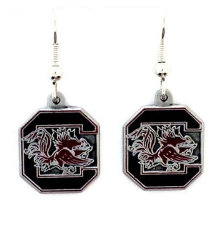 Siskiyou NCAA South Carolina Gamecocks Dangle Earrings