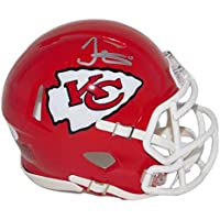 $89 » Tyreek Hill Signed Kansas City Chiefs Football Mini Helmet - NFL Speed Replica - Autographed and JSA Authenticated