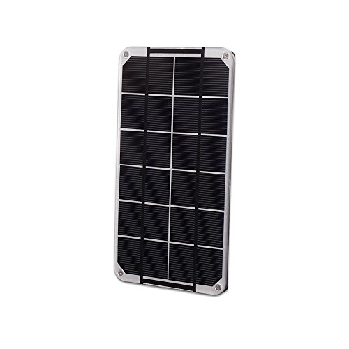 Voltaic Systems – Mini Solar Panel 3.5W 6V – Silver Panel Made with High Performance Monocrystalline Cells Waterproof, UV and Scratch-Resistant