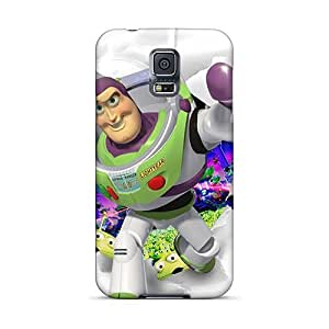 Anti-scratch And Shatterproof Toy Story Buzz Lightyear Phone Cases For Galaxy S5/ High Quality Cases