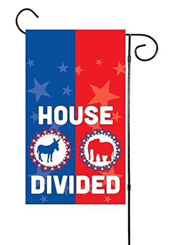 House Divide Garden Flag - 3
