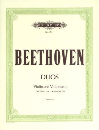 BEETHOVEN - Duos (3) para Violin y Violoncello ()