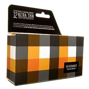 Sir Richard's Condom Company Ultra Thin Condoms, 12-Count Pack