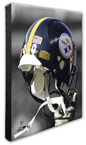 Photo File Pittsburgh Steelers Team Helmet Canvas Print Picture Artwork NFL PA
