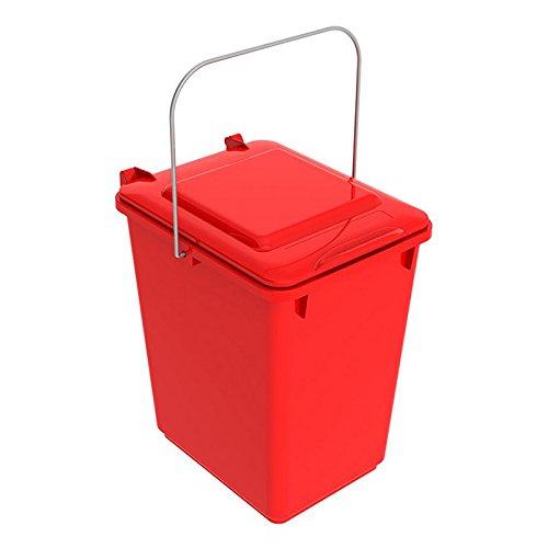 SULO Mülleimer Vorsortierbehälter Bio Boy, Inhalt 10 l - Rot