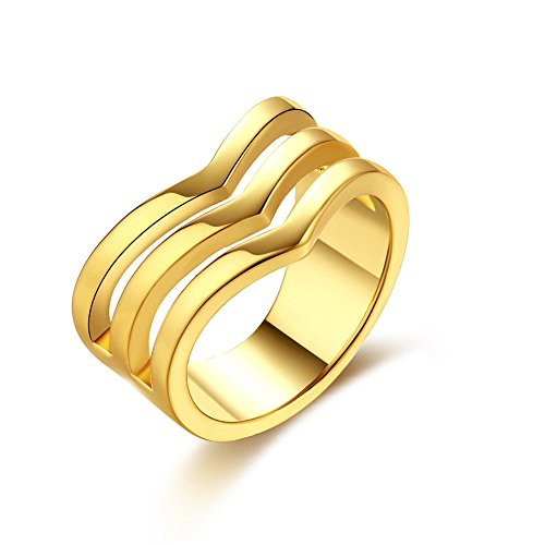 Unisex Charms Jewelry Gold Plated Romantic Geometry Zircon S