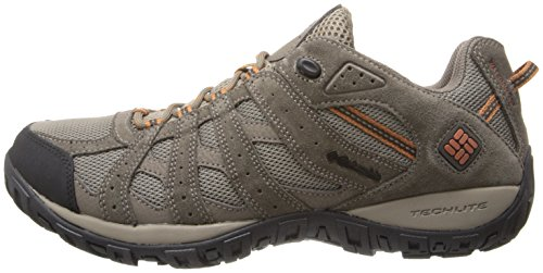 Columbia Men's Redmond Waterproof Hiking Shoe Pebble, Dark Ginger 7.5 D US by Columbia (Image #5)