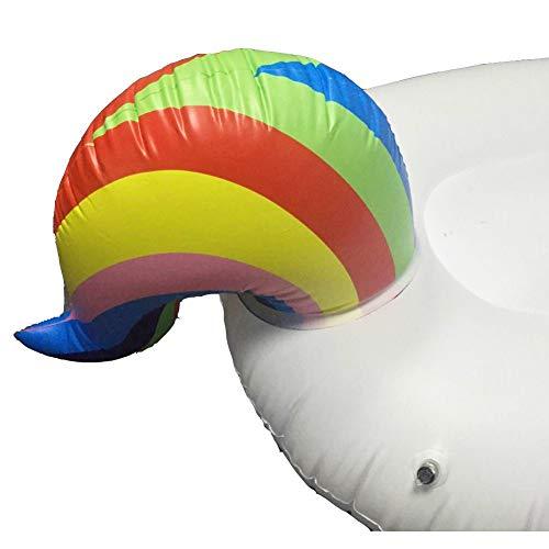 Flotador Inflable Para Piscina Con Forma De Unicornio Paseo Flotante Gigante Con Válvulas Rápidas Para Adultos Niños Playa Fiestas De Piscina Juegos