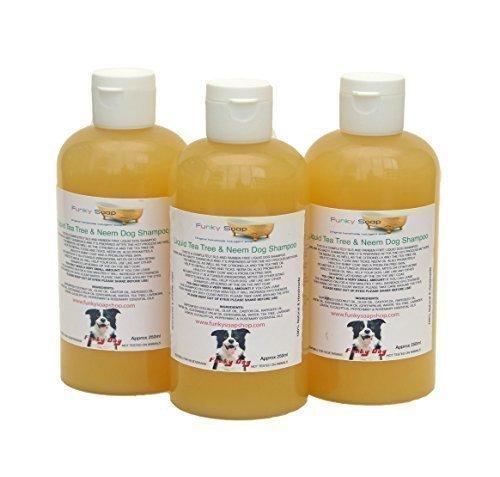 Hundeshampoo Teebaum & Neem Öl 100% Natürlich SLS Frei 250ml