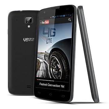 Yezz Andy 5Q - Unlocked Phone - Retail Packaging - Black