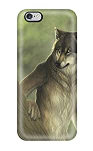 Brand New 6 Plus Defender Case For Iphone (humanlike Wolf)
