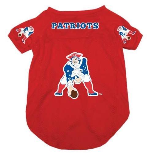 New England Patriots Pet Dog Football Jersey Medium (New England Patriots Pet Jersey)