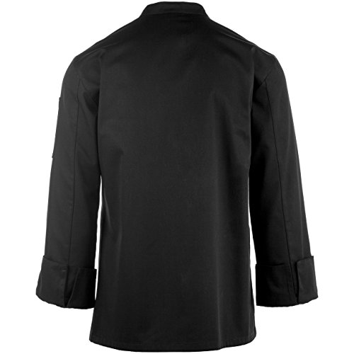 On The Line Men's Long Sleeve Chef Coat (S-2X, 2 Colors) by On The Line (Image #4)