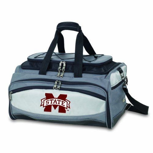 NCAA Mississippi State Bulldogs Buccaneer Tailgating Cooler with Grill by PICNIC TIME