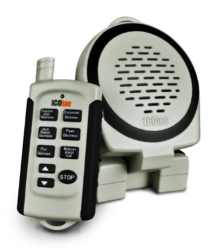 Icotec Call of The Wild GC101 Electronic Game Call, Grey by Icotec