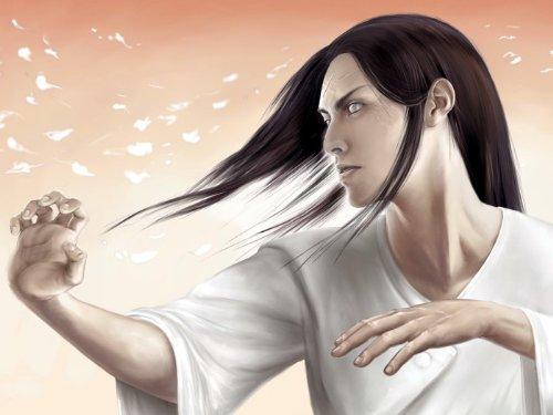 DJ0741 Naruto Neji Hyuga Anime Art 32x24 Print POSTER