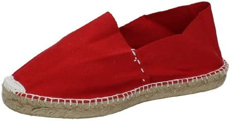 Made in Spain - Alpargatas para Hombre Rojo Rosso (Rojo ...