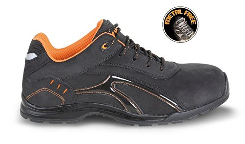 073490143 BETA Nubuck 43 Chaussure croûte en hydrofuge cuir basse Taille qvZwfRFSx