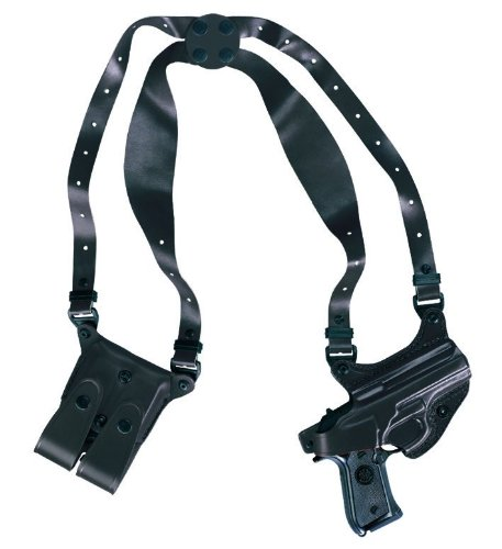 Gould & Goodrich B804-G17 Gold Line Shoulder Holster (Black) Fits GLOCK 17, 19, 22, 23, 31, 32, 34, 35, 39