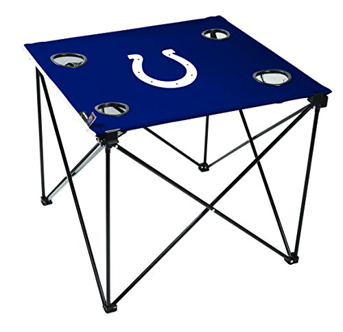 NFL Indianapolis Colts Unisex NFL OS Indcol TLG8 Delux Tablenfl OS Indcol TLG8 Delux Table, Blue, No Size