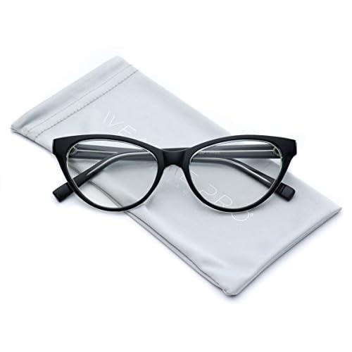 4ef3010ccbb WearMe Pro - Clear Lens Cat Eye Glasses for Women best ...