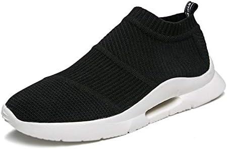 伸縮性スリップオンスタイルの生地軽量スポーツランニングシューズメンズ靴下のようなスニーカーハイ 快適な男性のために設計