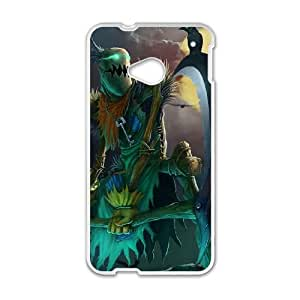 HTC One M7 Cell Phone Case White League of Legends FiddleSticks 0 GYV9444739