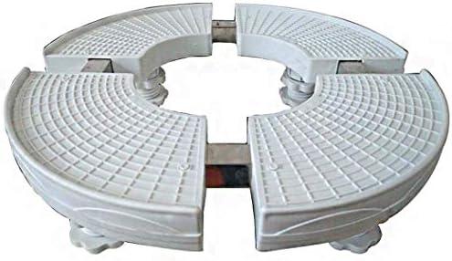 HEMFV 多機能冷却装置洗濯機の基盤の調節可能な一般的なフィートの円形の重負荷300のKg