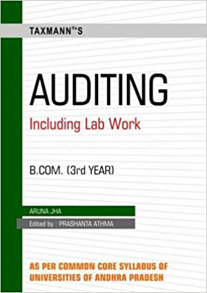 Buy Auditing: (B Com  IIIrd Year) Book Online at Low Prices in India