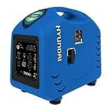Hyundai HY2800sei 2800-watt Portable Inverter Generator with Electric Start and USB