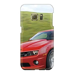 Samsung Galaxy S6 XgJ2066COpj Provide Private Custom Beautiful 2010 Chevrolet Camaro Ss 7 Pictures Shock Absorption Cell-phone Hard Cover -LeoSwiech