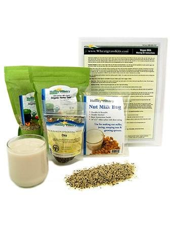 Amazon.com: Organic Hemp Leche Making Kit – Incluye ...