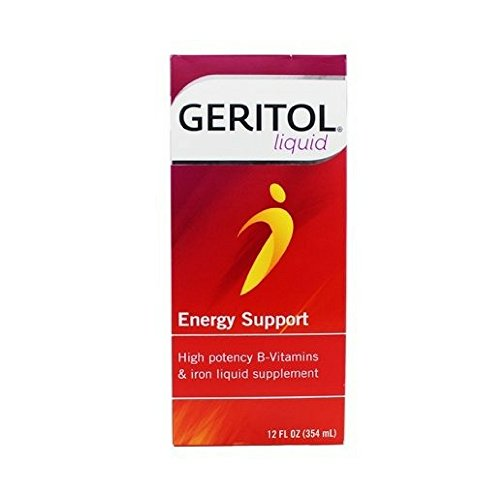 Geritol Liquid Energy Support B-Vitamins 12 (Vitamin Tonic)